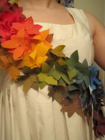 Floral Draped dress